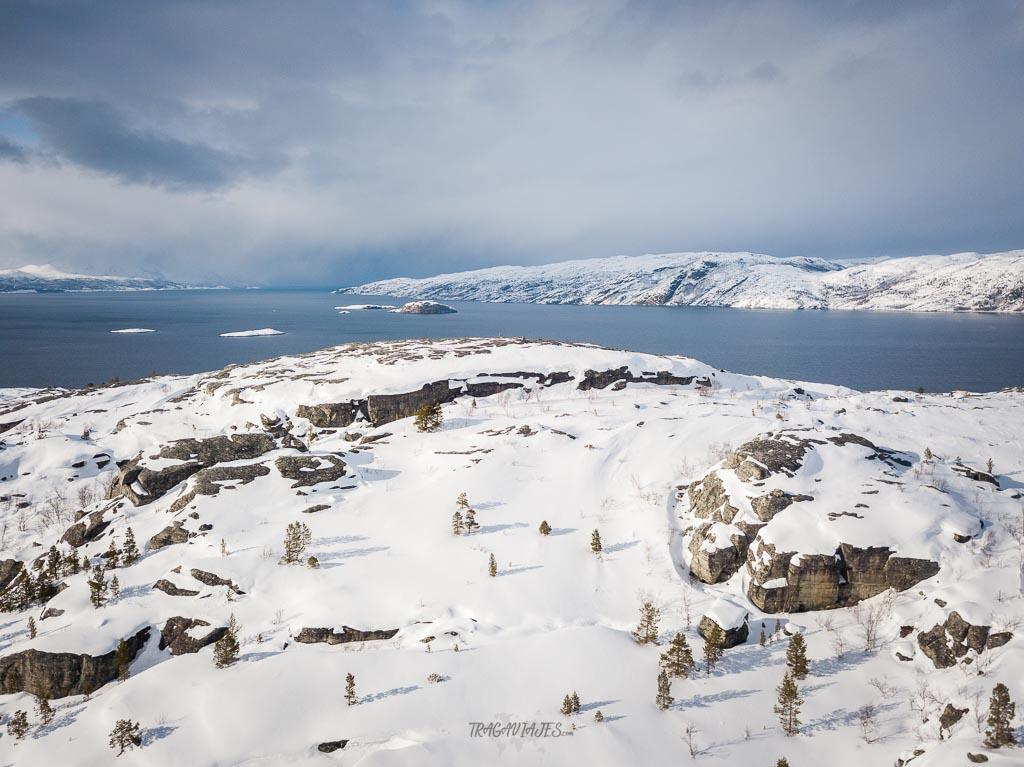 Viaje a Laponia - Cima de Komsa