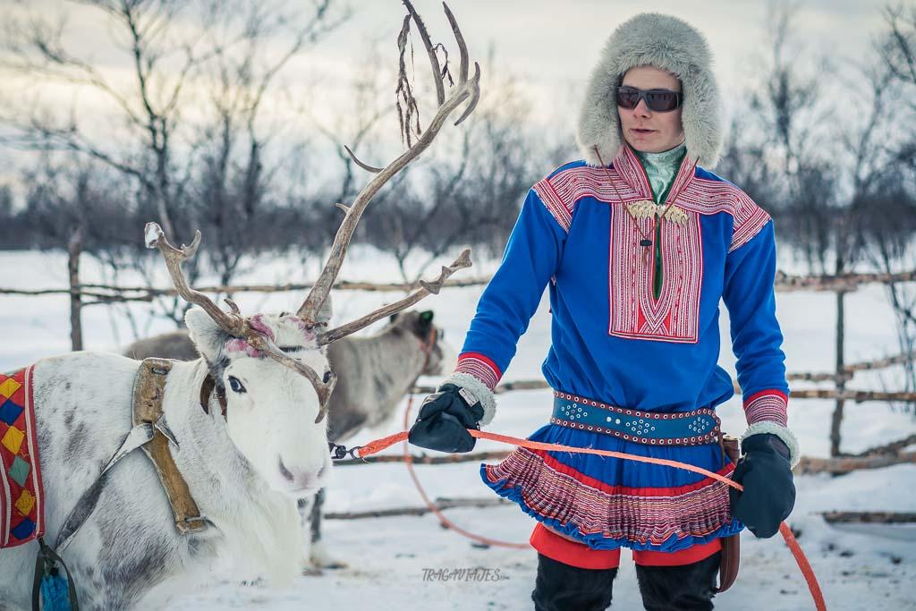 Viaje a Laponia noruega - Joven sami