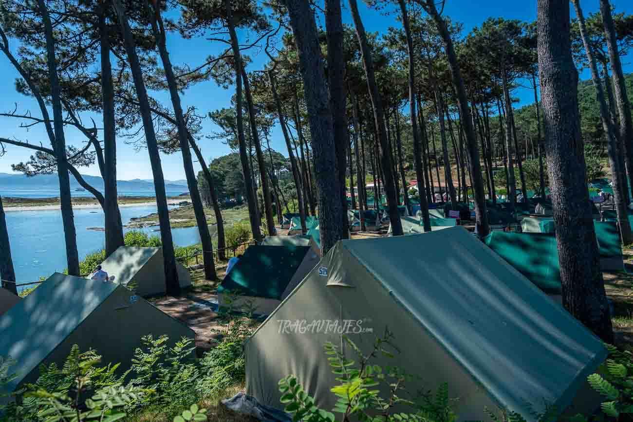 Dónde dormir en las islas Cíes
