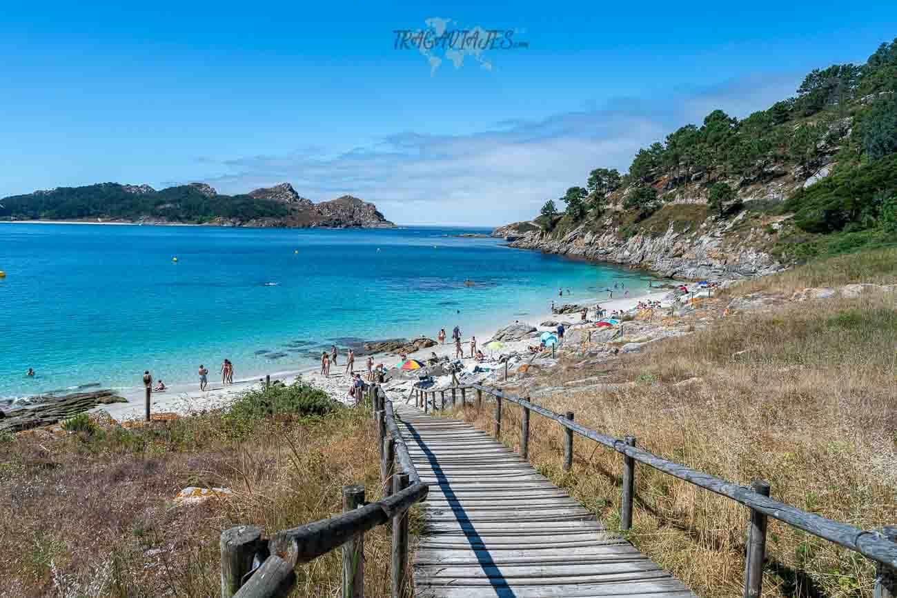 Playas de las islas Cíes