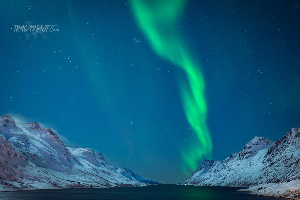 Ver auroras boreales en Tromso