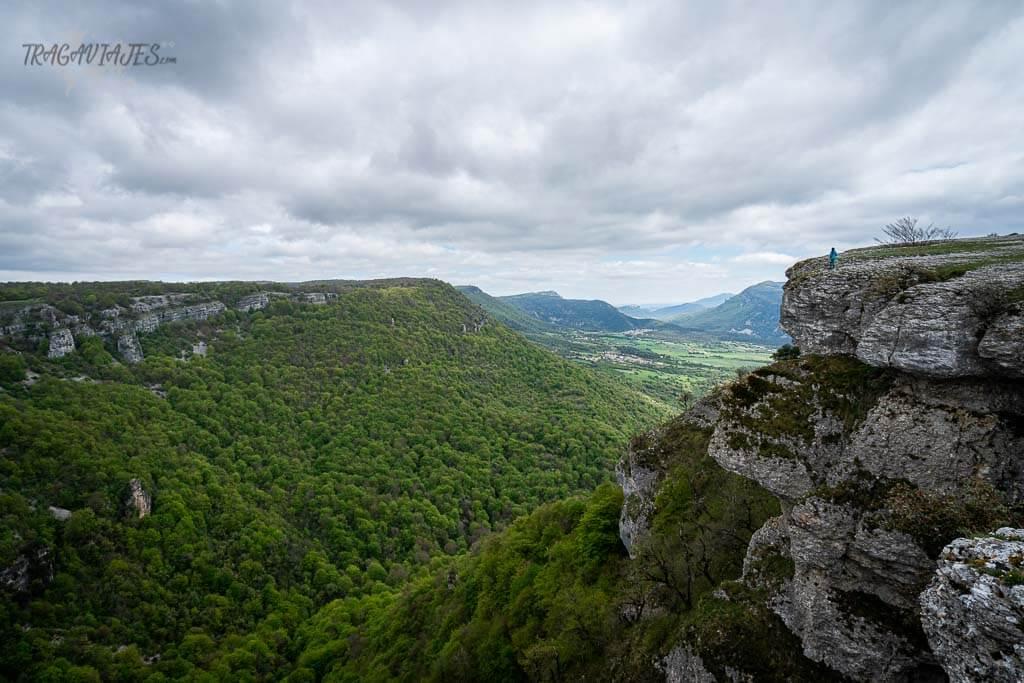 Mirador del Balcón de Pilatos con vistas al nacedero