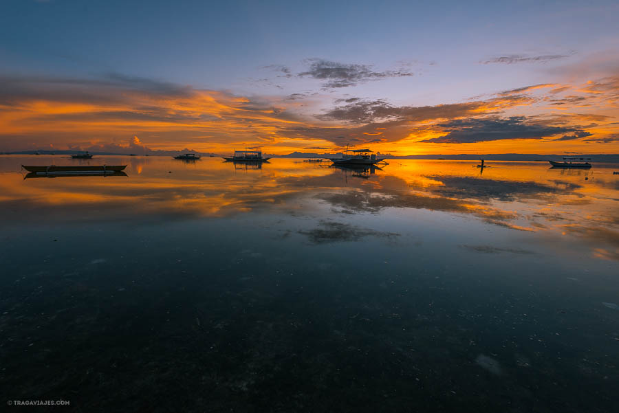 Atardecer, Bohol, Filipinas