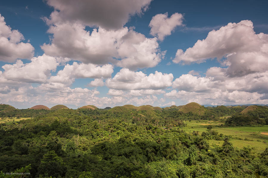 Chocolate Hills, Bohol, Filipinas