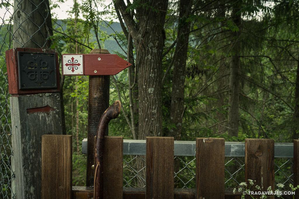 camino de san olav o nidaros, noruega