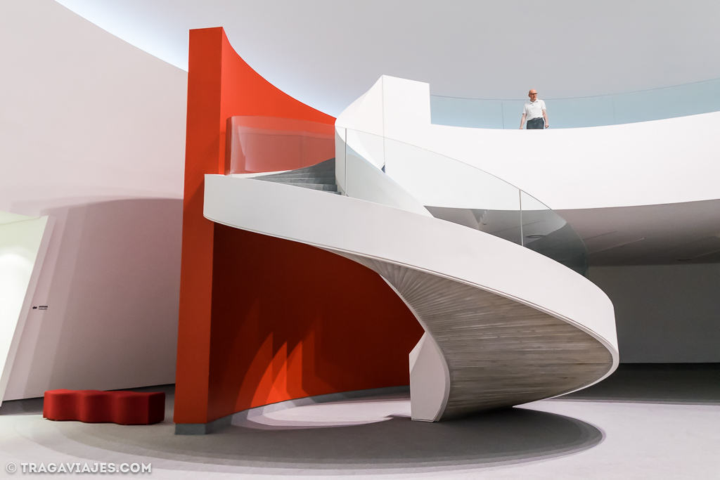 Interior centro Niemeyer Aviles
