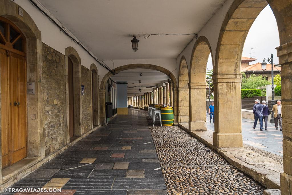 camino santiago camino del norte Calle Galiana Aviles