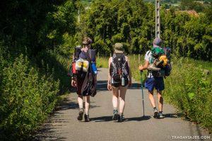camino santiago camino del norte peregrinos