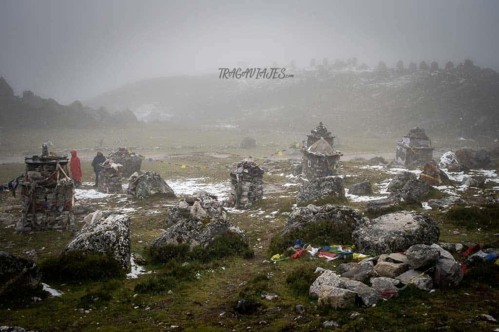 Campo base del Everest - Memorial