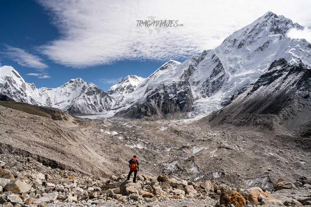 Campo base del Everest - De camino a Gorakshep