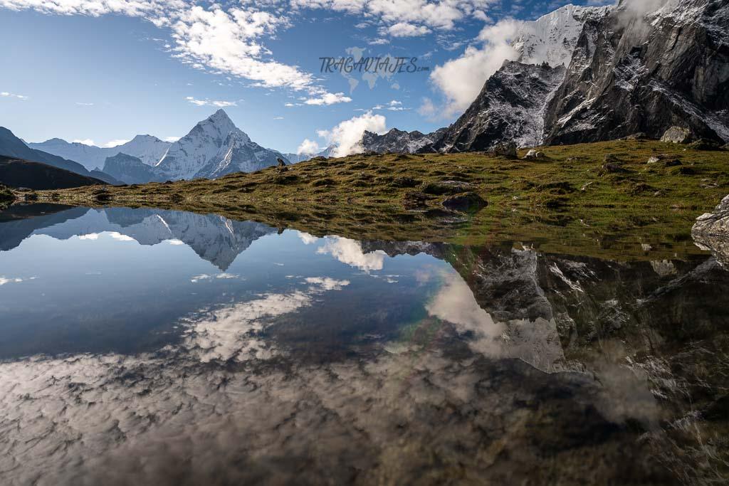 Campo base del Everest - Ama Dablam desde Dzongla