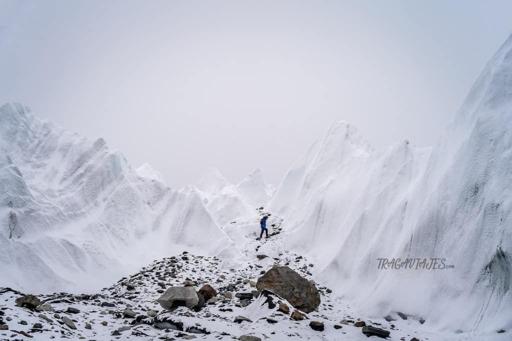 Campo base del Everest - Glaciar de Khumbu