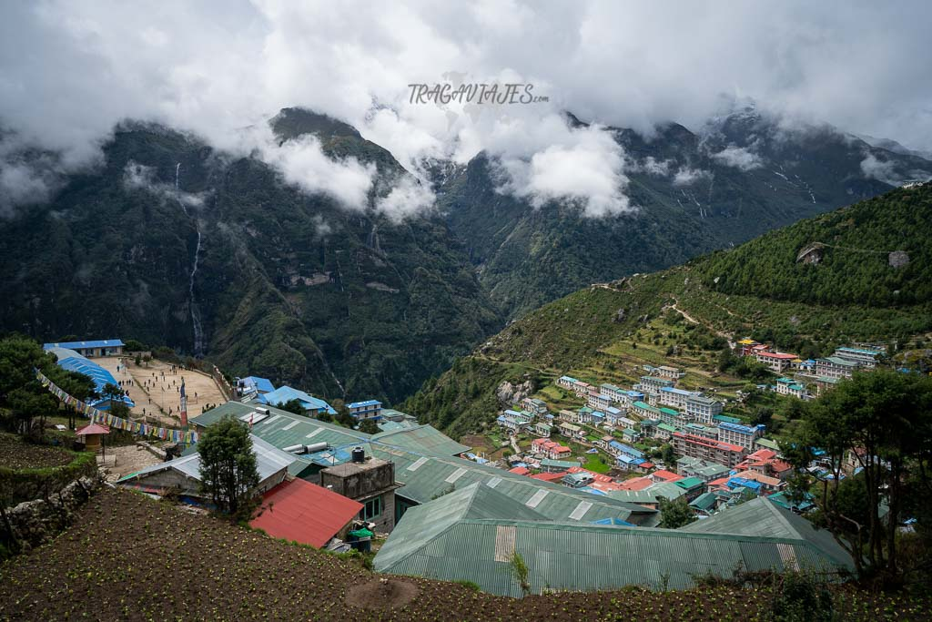 Campo base del Everest y Gokyo - Namche Bazaar