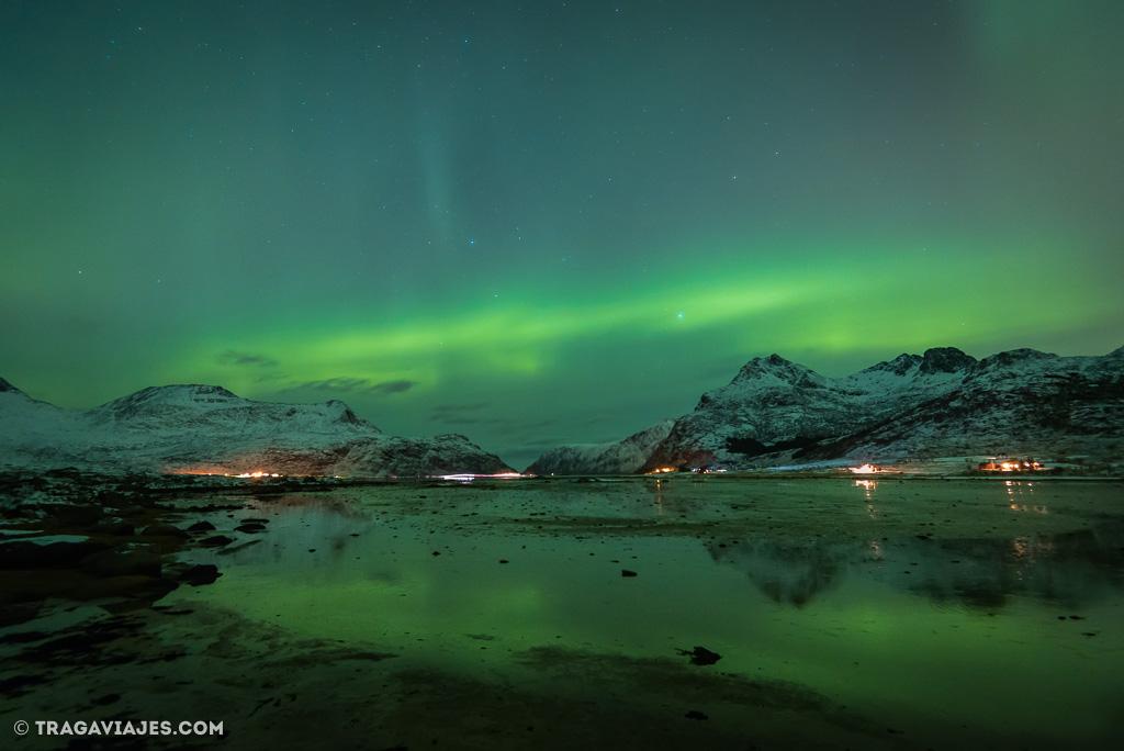 cómo ver auroras boreales y cómo fotografiarlas
