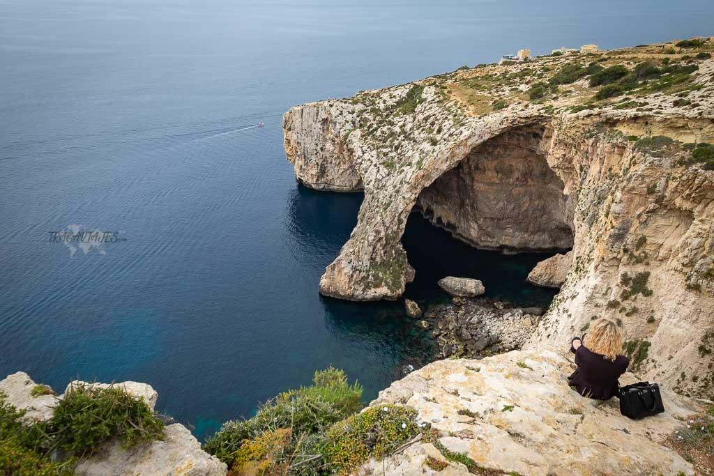 consejos para viajar a malta - Blue Grotto