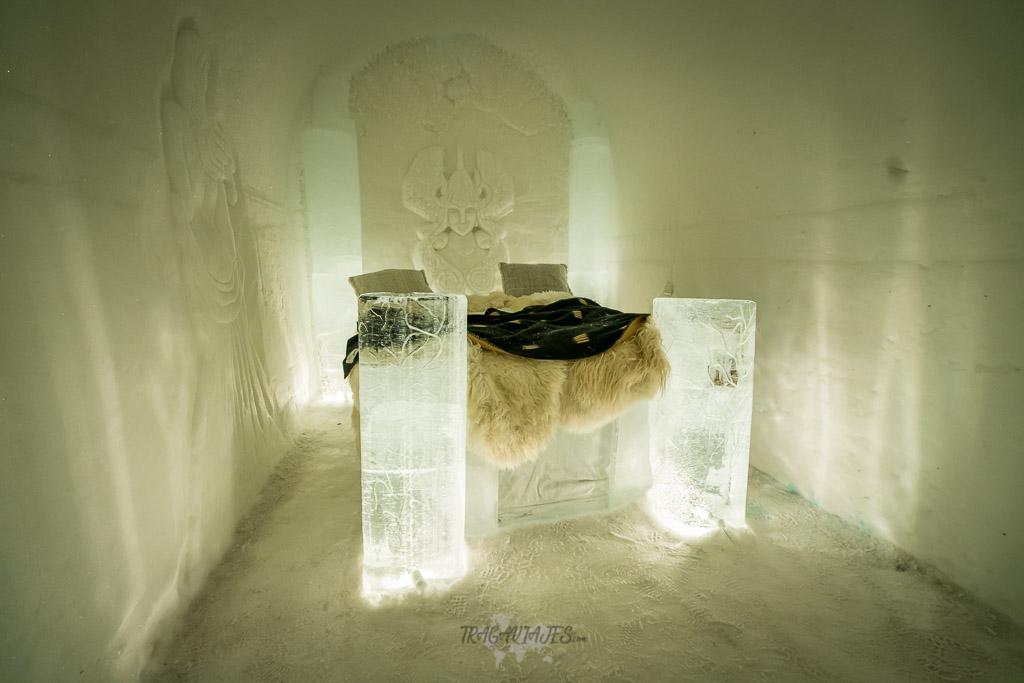 Dormir en un hotel de hielo - Habitación