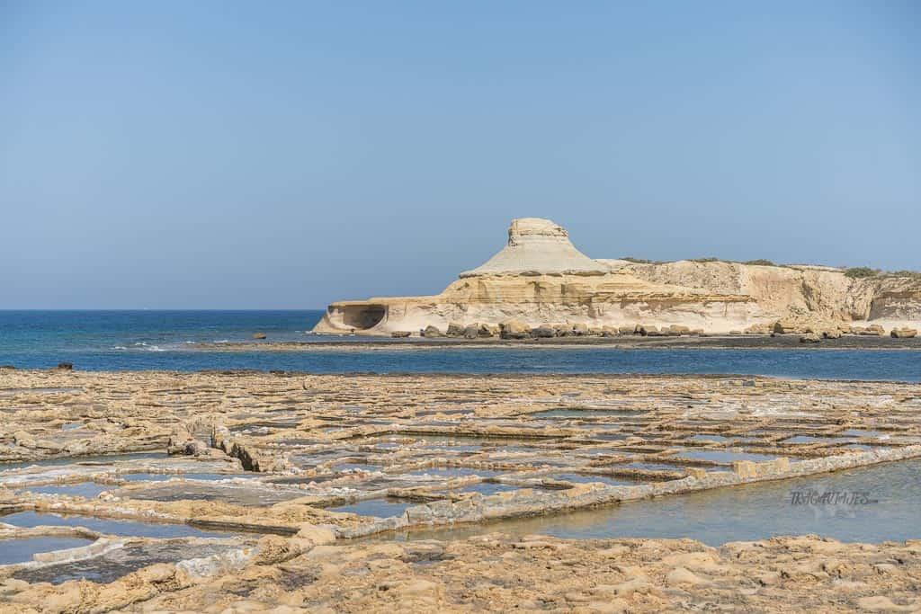 Qué ver en Gozo en un día - Salinas de Qbajjar