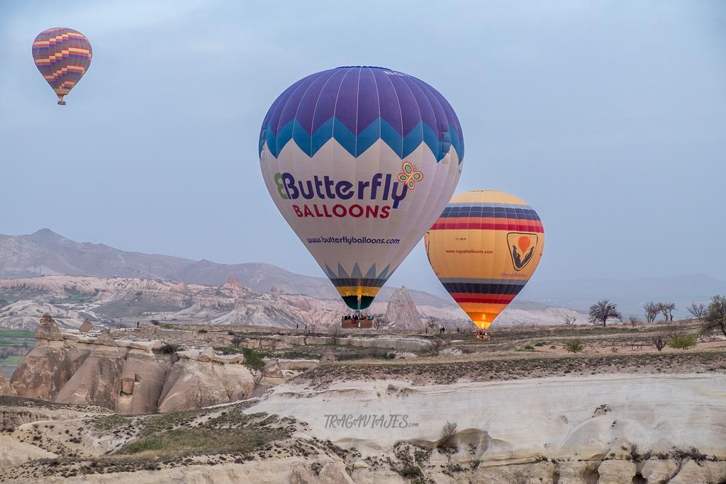 Excursión en globo en Capadocia