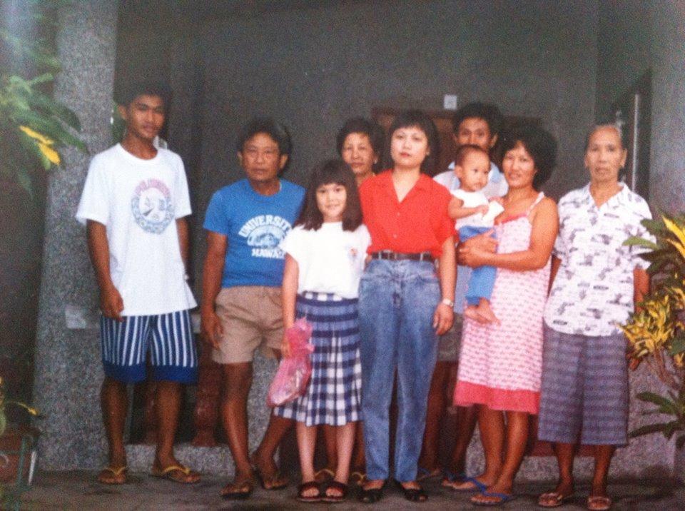 Familia Filipina de Irene en Bacarra, Ilocos norte