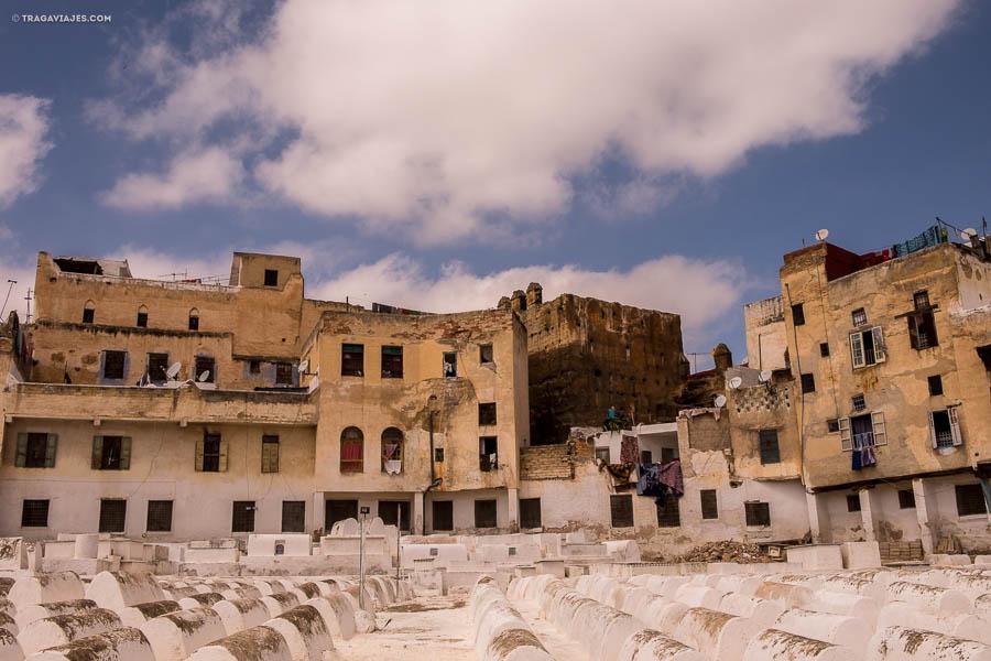El mella cementerio, Fez, Marruecos