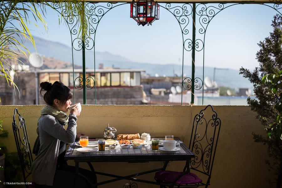 Desayuno en Fez, Marruecos