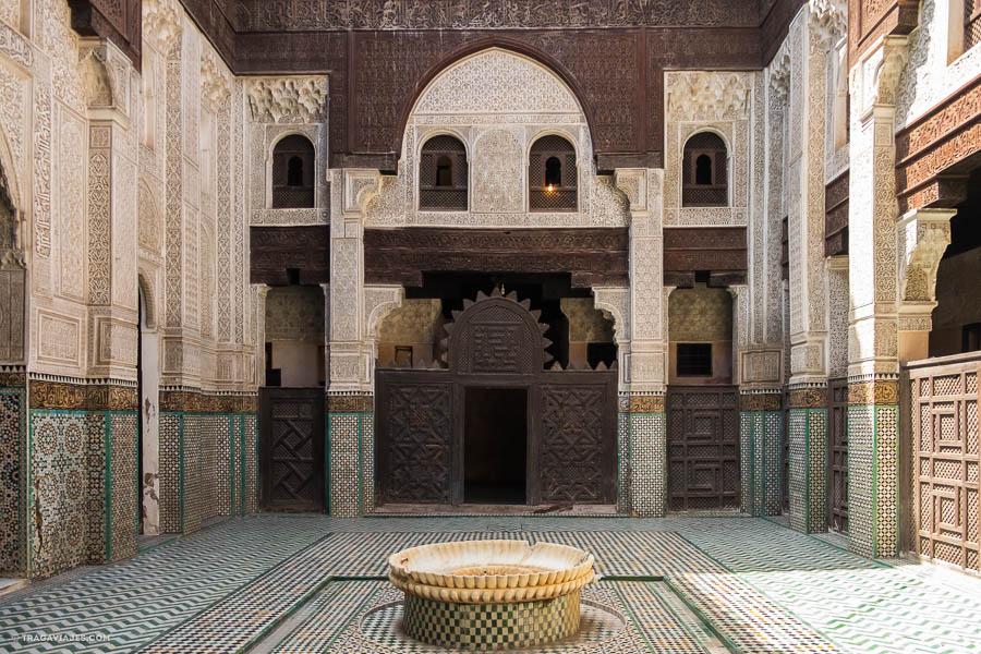 Madraza de Fez, Marruecos