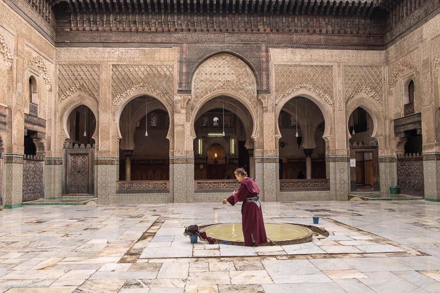 Medersa Bou Inania, Fez, Marruecos