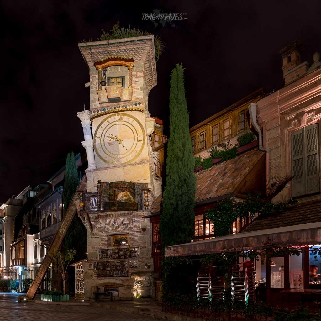 Guía de Georgia - Torre del reloj de Tbilisi