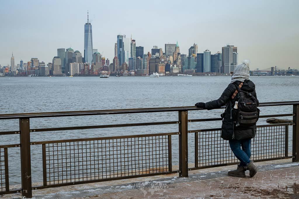 Guía para viajar a Nueva York - Vista desde el Liberty Island