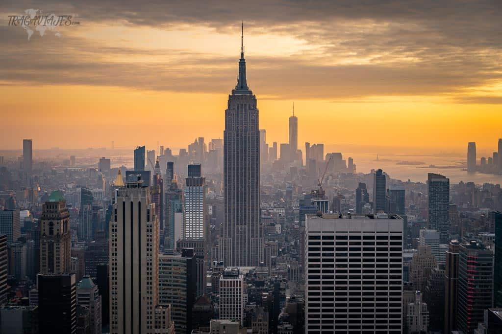 Guía para viajar a Nueva York - Vista desde el Top of the Rock