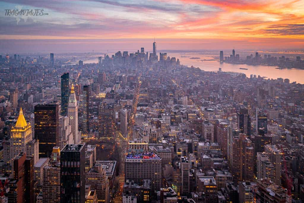 Guía para viajar a Nueva York - Vista desde el Empire State