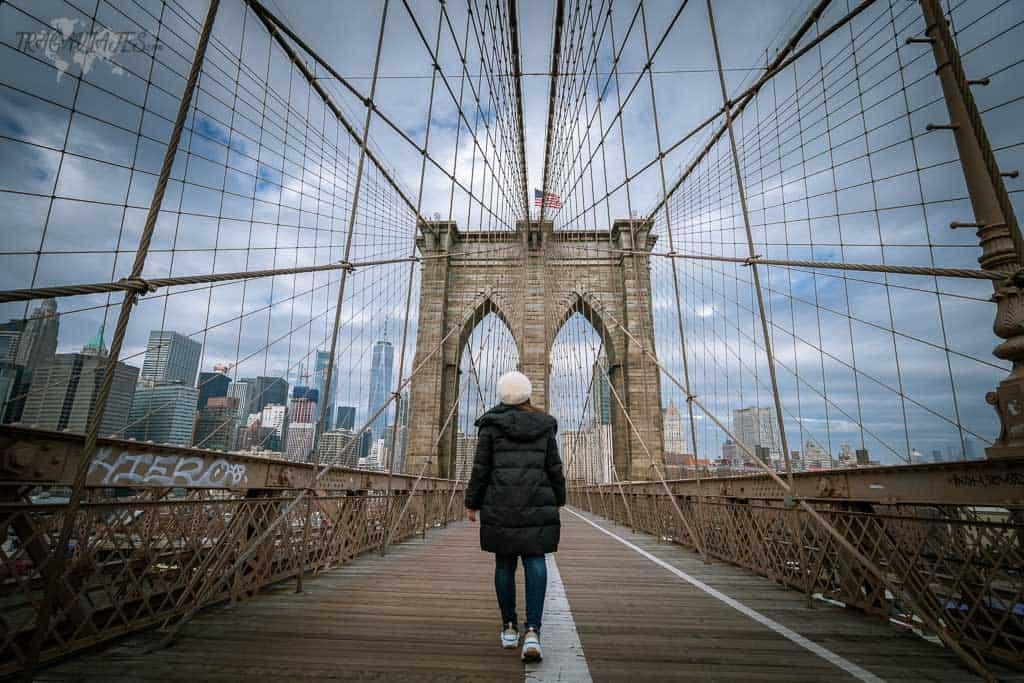 Guía de Nueva York - Pasear por el Puente de Brooklyn