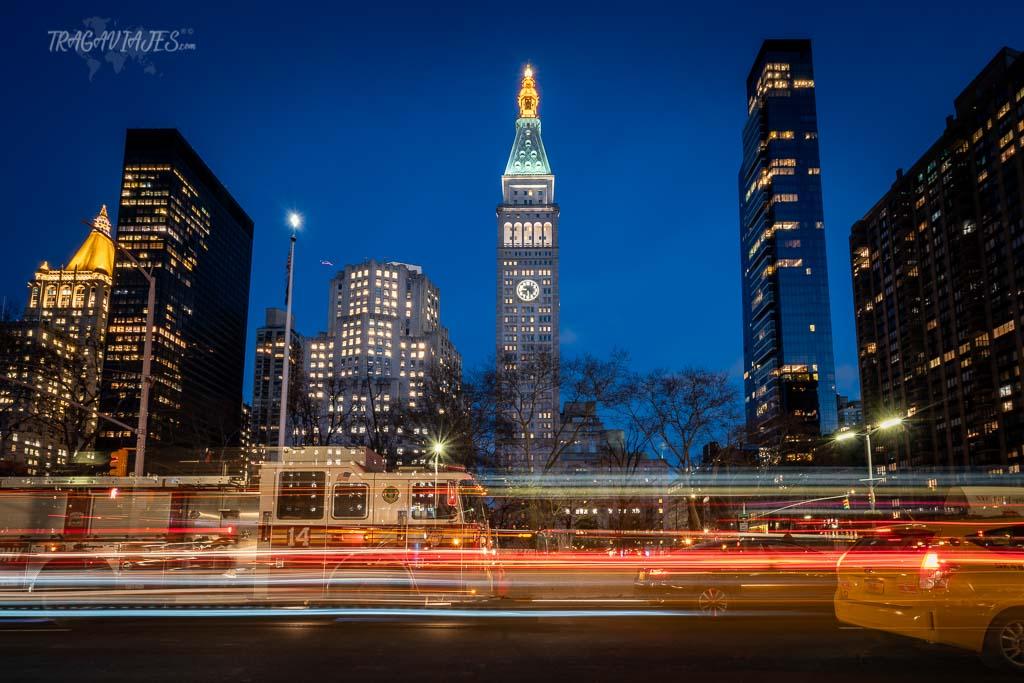 Guía para viaje a Nueva York - Noche de Nueva York