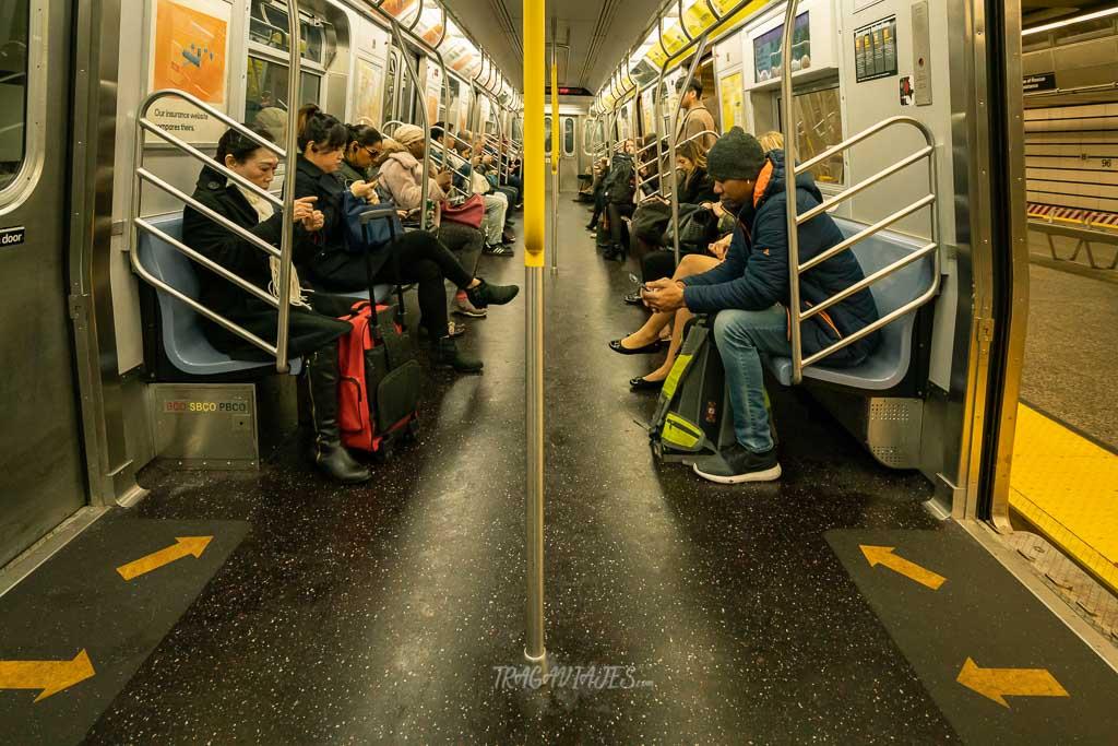 Cómo me muevo en Nueva York - En metro