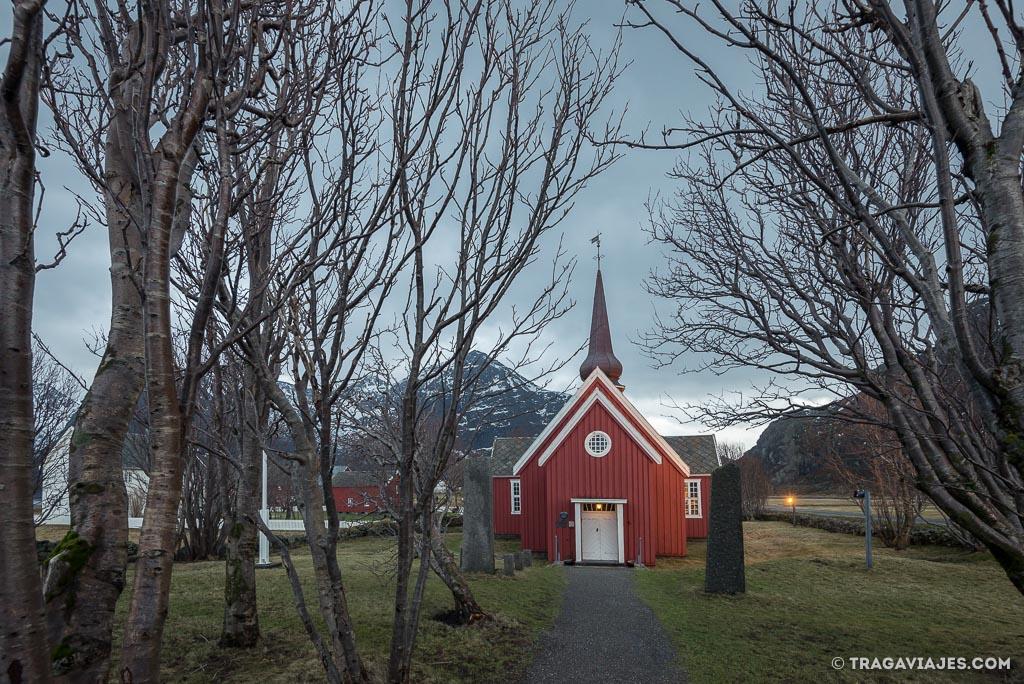 iglesia de Flakstad