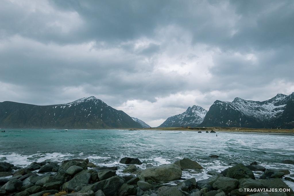 Playas de Lofoten - Skagsanden