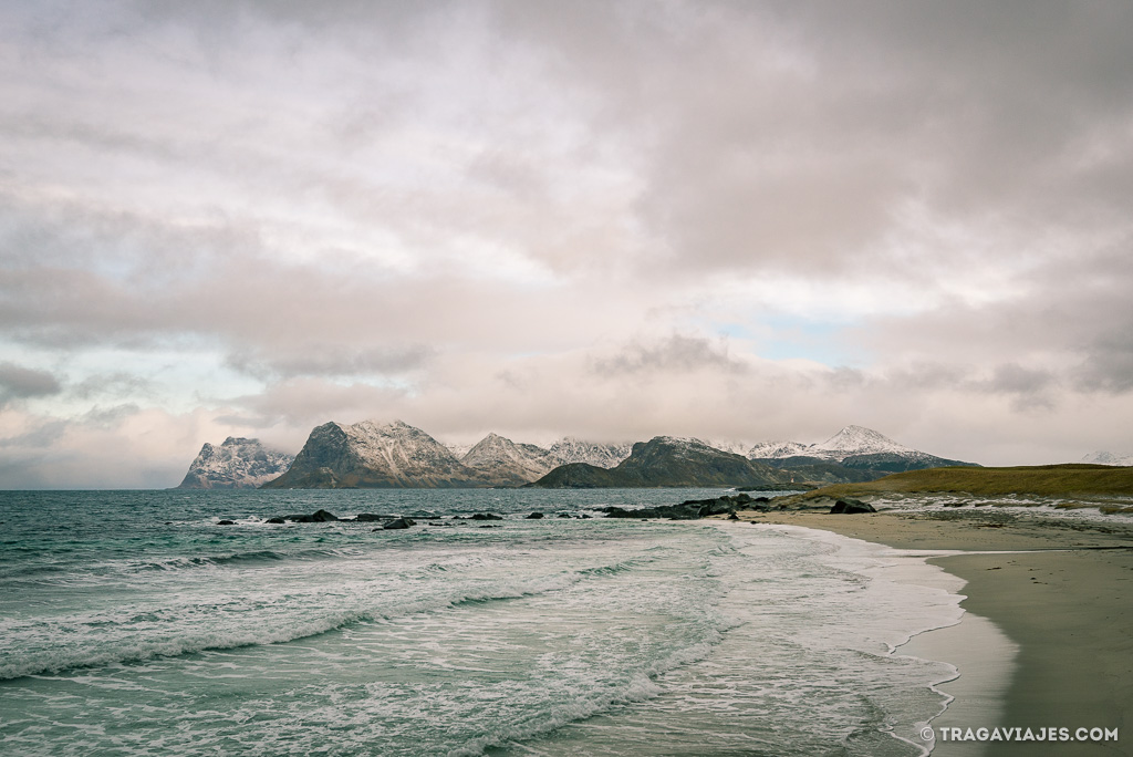 Playas de Lofoten - Storsandnes beach