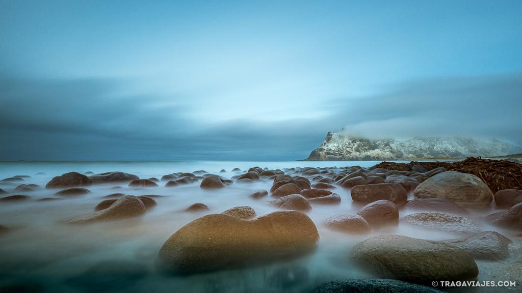 Playas de Lofoten - Uttakleiv beach