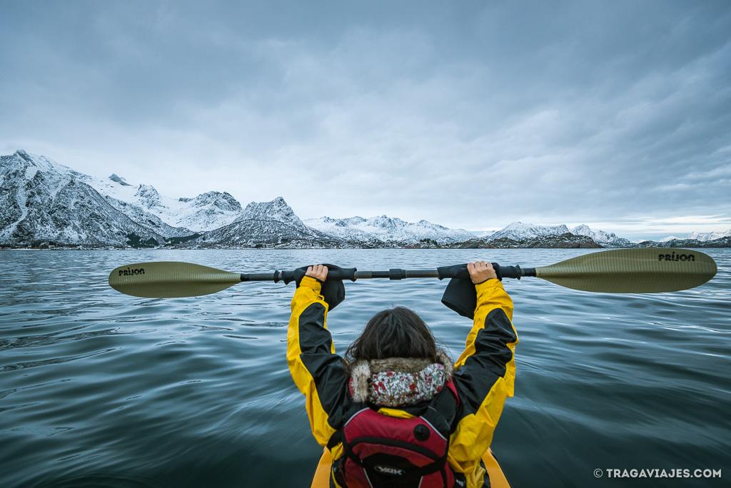 Actividades en Lofoten - Kayak en lofoten
