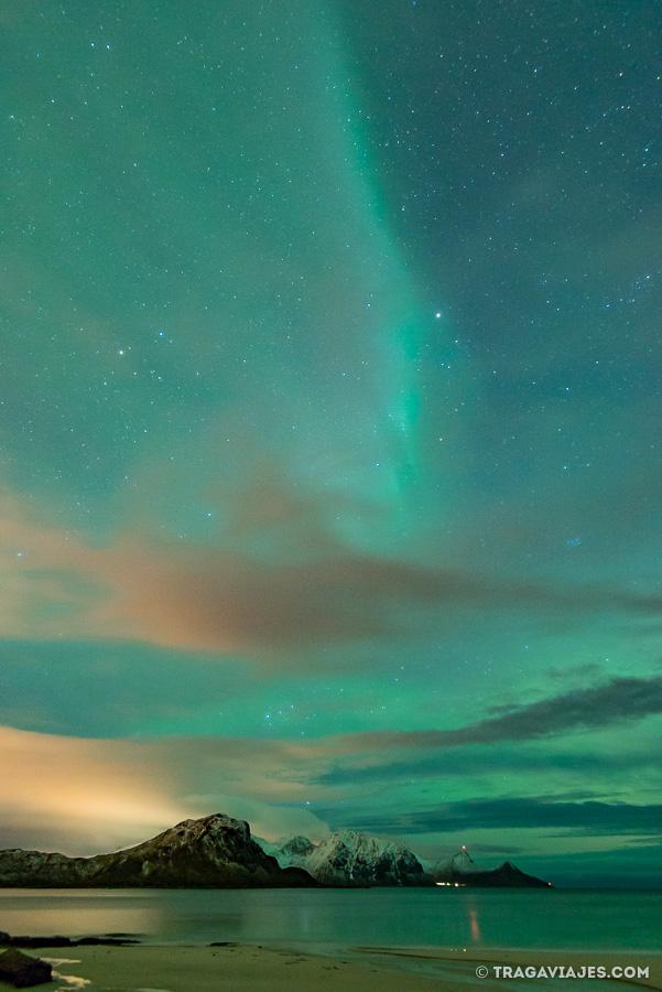 Auroras Boreales en Haukland