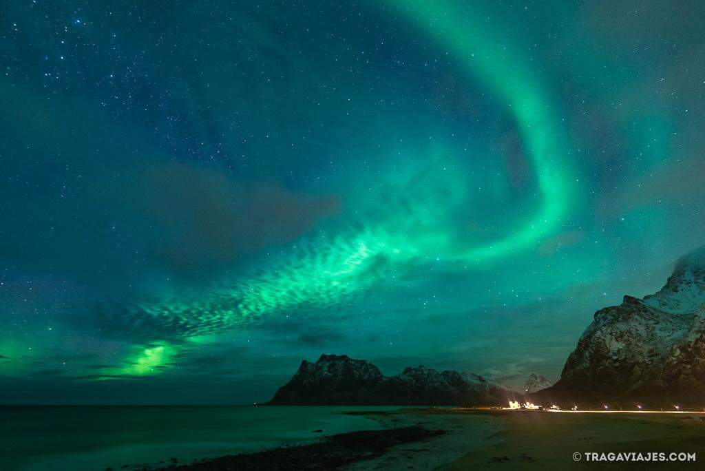 Auroras boreales en Uttakleiv