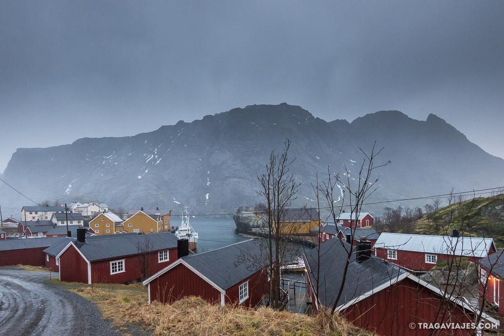 Guía de Lofoten - Nusfjord