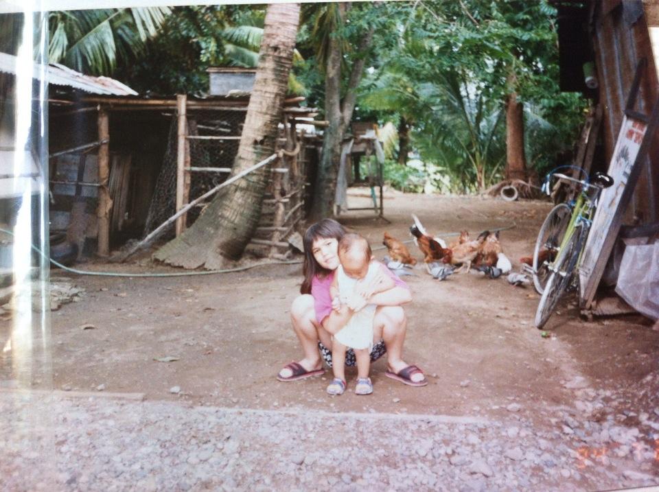 Irene en bacarra, ilocos, norte, filipinas