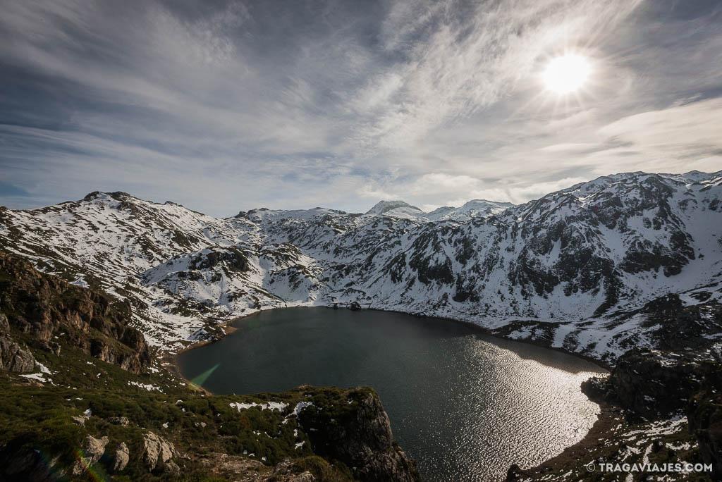 lagos de saliencia somiedo Asturias