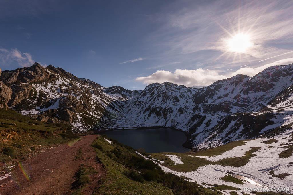 ruta lagos de saliencia, parque natural de somiedo Asturias