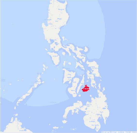 mapa filipinas