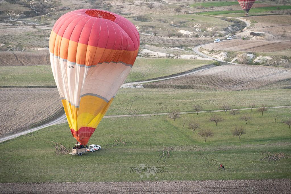 Volar en globo en Capadocia