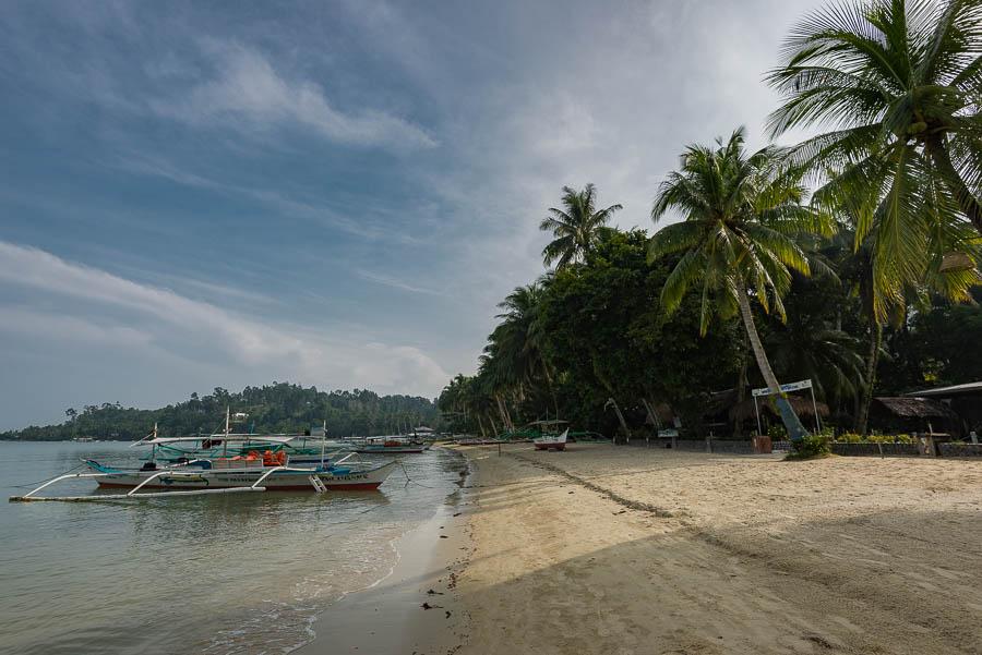Playa de Port Barton, Filipinas