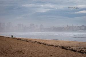 Qué hacer en Gijón - Playa de San Lorenzo