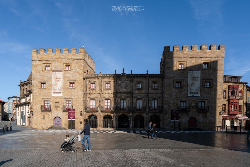 Qué ver en Gijón - Palacio de Revillagigedo
